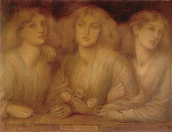 Dante Gabriel Rossetti  1874  Rosa Triplex