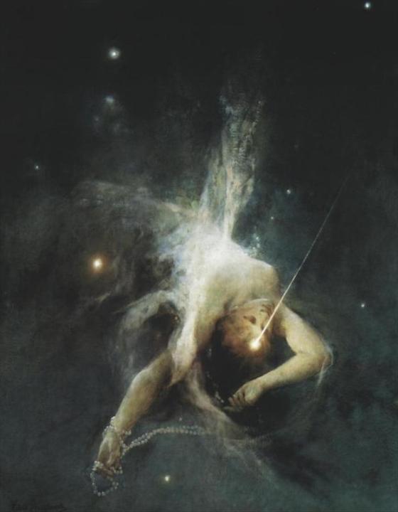 Todo Es Vida, y no hay por qué limitarla a formas predeterminadas. ES sin cesar bajo cualquier apariencia, si nuestra mente no la limitWitold Pruszkowski  ESTRELLA FUGAZ 1884a.