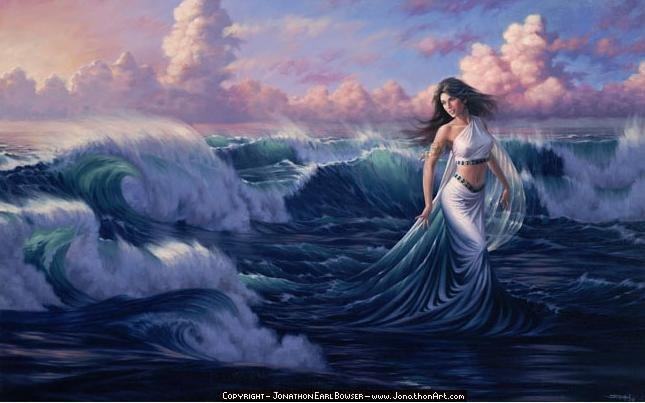 Baila suavemente en las emociones , sabiendo, que eres una gotita más entre todas las que forman la Gran Consciencia, que las absorbe.
