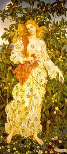 Flora   1894    Wvelyn Pickering De Morgan