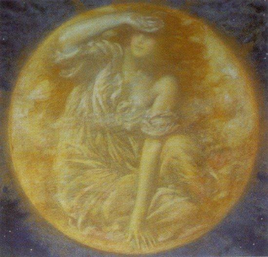 Edward Robert Hughes 1851-1914 Luna radiante