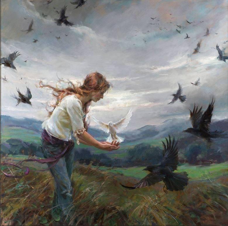 Entre pájaros